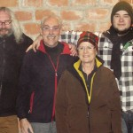 Das Team der bg Bremen mit Klaus, Frank, Sigrid und Matthias