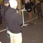 Spielszene: Max und Lukas gegen Klaus und Sigrid