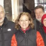 Die Dritten. Das sind die Jade-Bouler Hans-Hermann, Karin, Herbert und Charlotte