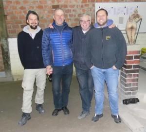 Die Finalisten: Jasper und Christoph und die Sieger aus Lübeck, Reinhard und Mark